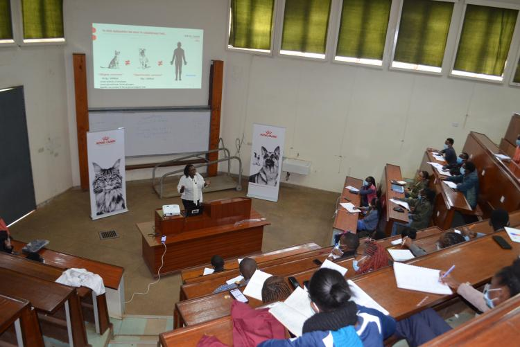 Guest lecture on Pet Nutrition by Royal Canin