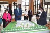 HANDING OVER OF THE NEW CONFUCIUS INSTITUTE BUILDING