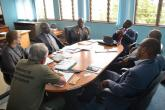 Visit to CSD by delegation from University of Namibia